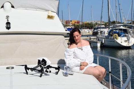 Magrit Shoes Silvie Paloma Silla Destaca-te drones Real Club Nautico Valencia