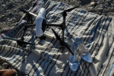 Silvie Magrit Paloma Silla mar imagen asesoría dron