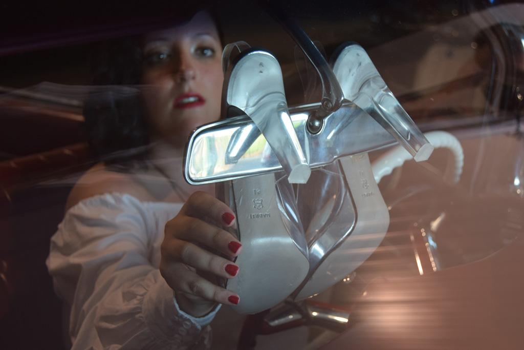 Silvie de Magrit sandalias vinilo Paloma Silla Destaca-te asesoría imagen