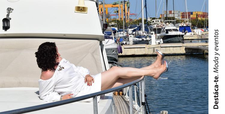 Silvie Magrit peep-toe destalonado zapato vinilo Paloma Silla Destaca-te portada