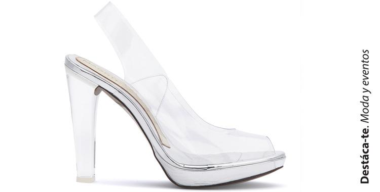 Silvie Magrit peep-toe destalonado zapato vinilo y metacrilato Paloma Silla Destaca-te portada
