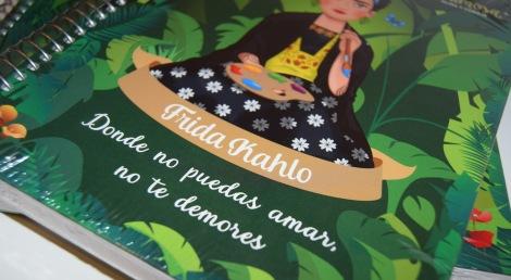 Paloma Silla Destaca-te Frida Kahlo libretas material escolar