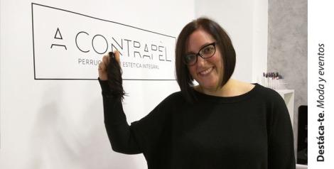 Paloma Silla Destaca-te peluca solidaria