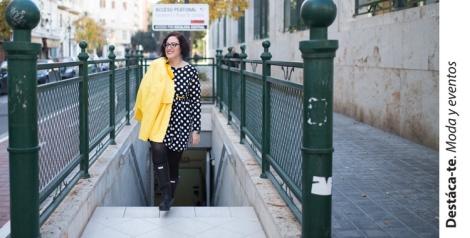 Paloma Silla Destaca-te lunares Manolita Faldotas vestido tallas grandes