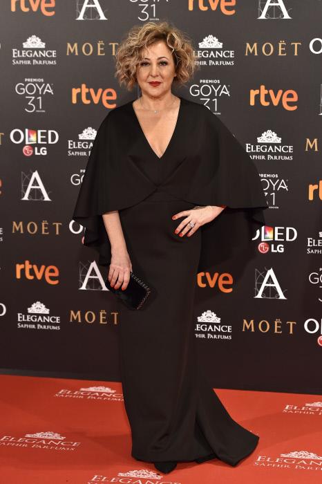 Goya 2017 alfombra roja