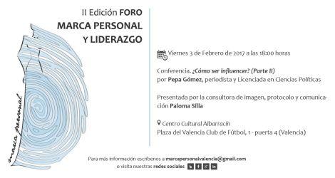 Influencer Marca Personal Branding Valencia