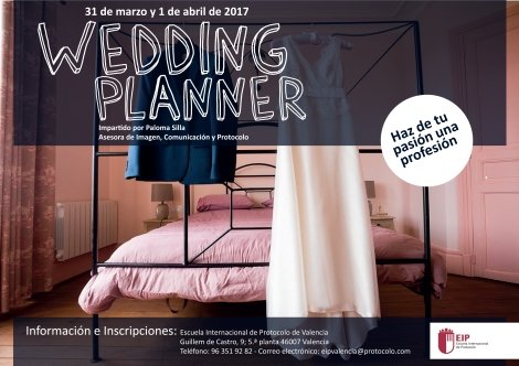 curso wedding planner Paloma
