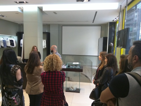 Paloma Silla Destaca-te formacion protocolo