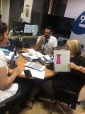 Paloma Silla Destaca-te moda asesoria imagen El Forcat 99.9 radio presentacion coleccion Carlos Haro