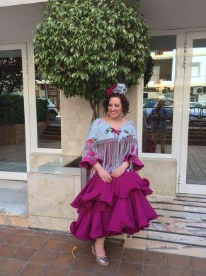 Paloma Silla Destaca-te moda flamenca buganvilla Feria de Abril 2018 Sevilla 11
