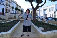 Blazer cuadros pata de gallo blanco y negro Paloma Silla Destaca-te tallas grandes Cortefiel asesoria 14