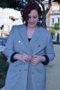 Blazer cuadros pata de gallo blanco y negro Paloma Silla Destaca-te tallas grandes Cortefiel asesoria 8