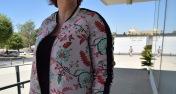 Paloma Silla Destaca-te asesoria de imagen tallas grandes look bomber floral Violeta by Mango 8