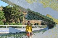 Paloma Silla Destaca-te asesoria de imagen tallas grandes pantalón floral oriental Zara dorados y ocres 15
