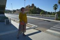 Paloma Silla Destaca-te asesoria de imagen tallas grandes pantalón floral oriental Zara dorados y ocres 19