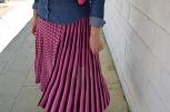 Paloma Silla Destaca-te tallas grandes outfit denim y falda punto Zara primavera verano 2018 asesoria imagen 17